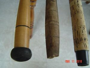 Vintage Musky or Salmon Fishing Rods(3)