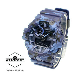 Casio G Shock Camouflage Patterns Special Color Model Watch GA700CM 2A