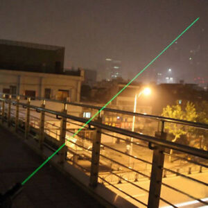 Green laser pointer 5MW Most powerful allowed UP TO 10 Mile Range 2 in 1 GRADE A $8.99