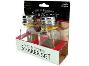 Squared Square Salt And Pepper Shakers Set