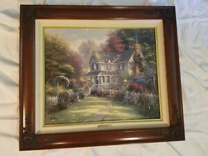 Thomas Kinkade Victorian Garden II 20X24; GP 209 990 Canvas Gallery Proof $1800.00