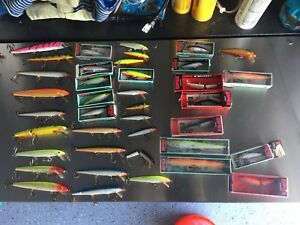 Fishing Rapala Lot 54 Lures Various Sizes