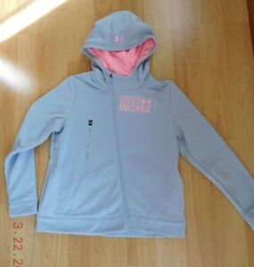 Under Armour Storm zip up youth girl hoodie Water Resistant size XL(18-20)