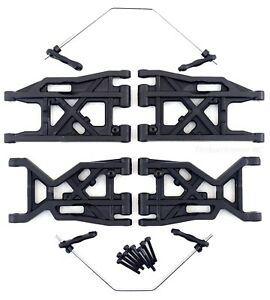 HoBao Hyper SS Front Rear LOWER Suspension Arms w/Swaybars 90001 90007 Ofna