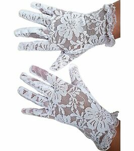 White Lace Communion Gloves Toddlers Super Cute for Boys amp; Girls. Outfit Gloves