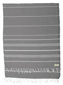 Bersuse 100% Cotton - Anatolia XL Throw Blanket Turkish Towel Pestemal - Bath