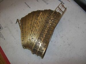 Lot of 2 ozs of Gold Plated Sim Card Skeleton Reel for scrap gold recovery