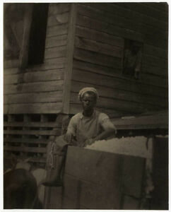 Doris ULMANN: Untitled (Worker in Wagon) c. 1915  VINTAGE  Platinum Print