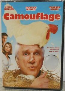 CAMOUFLAGE THE BIG SLICE DVD 2007 VERY RARE COMEDY 2 PACK BRAND NEW