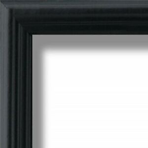 US ART Frames .75quot; Black Solid Poplar Wood Picture Poster Frames S B