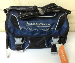 Field & Stream Angler Fishing Tackle Lures Bag with 3-3700 Utility Tray Boxes