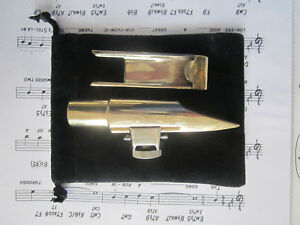 TENOR VINTAGE LAWTON BULLET CHAMBER ORIG w  LIG & REED COVER  A+