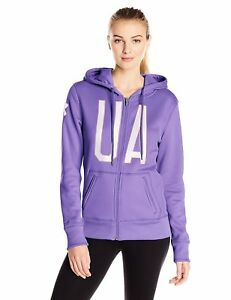 Under Armour Women's Storm Fleece Full-Zip Graphic Hoodie - Choose SZColor