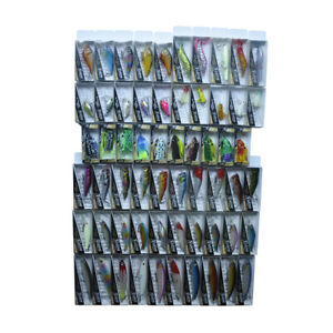 60pcs Hard Soft Fishing Lures Minnow Shad Popper VIB Frog Mouse Crank Bait