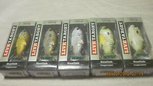 Live Target Sunfish (3 12 Inches) (58 Oz.) Topwater Lures