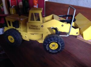 Tonka Loadergood conditionyellow color smoke free home vintage construction