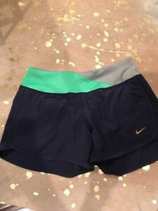 Womens Nike Rival Stretch Running Shorts Style 520308 Shorts Size XS NEW Navy