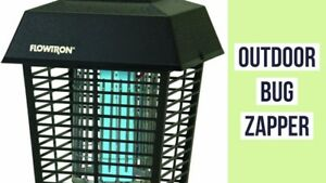 Flowtron Electronic Flying *LARGE 1/2 ACRE*  Insect Mosquito Bug Zapper SPECIAL