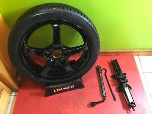2008-2019 CADILLAC CTS CT6 COMPACT SPARE TIRE WITH JACK KIT