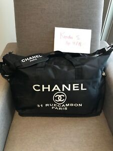 *1 DAY SALE* Chanel VIP Extra Large ToteDuffle Brand New *US SELLER*