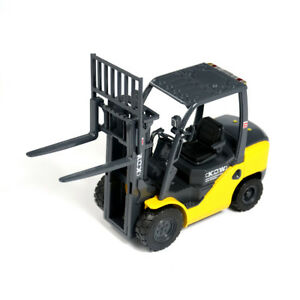 1:20 Forklift Truck Construction Vehicle Metal Diecast Model Toy Vehicle Yellow