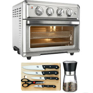 Cuisinart Convection Toaster Oven Air Fryer + Knife Set, Spice Mill