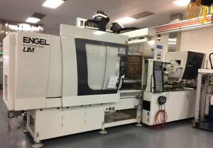 2014 Engel 240 Ton LSR All-Electric Injection Molding Machine 500 hours