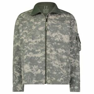Massif Men's Fire Retardant Army Elements Jacket ACU Genuine US Military Issue