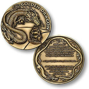 NEW Order of the Golden Dragon Challenge Coin.