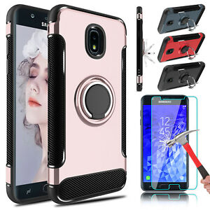 For Samsung Galaxy J7 2018CrownStar Refine Holder Case Cover Screen Protector
