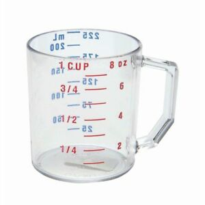 Cambro Camwear� 1 cup Clear Polycarbonate Measuring Cup 25MCCW135 $16.16