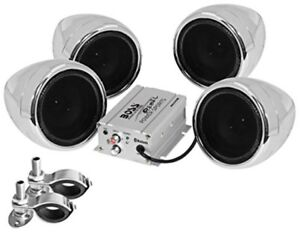 Best Audio For Motorcycle Stereo System Speakers Ipod Bluetooth Amplifier Kit