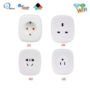 Smart Plug 16A WIFI Outlet Swtich work with Echo Alexa Google Home APP Remote
