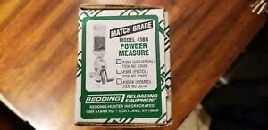 Redding Match Grade 3BR Powder Measure wUniversal Meter