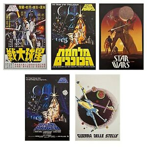 Star Wars 40th Anniversary Lithograph Set Poster - Limited Edition of 3300