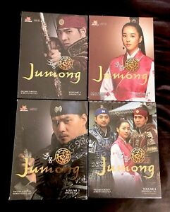 Jumong: Complete Series Vol. 1 2 3 4  Korean Drama YA Entertainment New