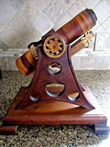 KALEIDOSCOPE ~HANDMADE SOLID WOOD ~HUGE 14