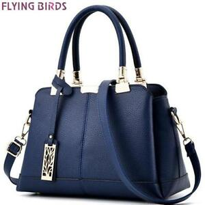 FLYING BIRDS women tote designer famous brands women leather handbag patchwork p