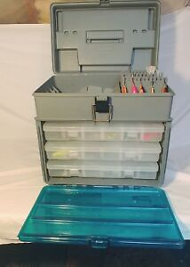 Plano Guide Series Fishing Tackle Box (Full of NEW lures)