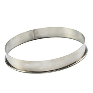 Round Stainless Steel Cake Mold Ring for Pizza Pastry Saucing Mould 11inch