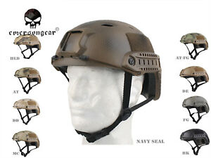 Emerson Combat Fast Helmet BASE Jump Type Airsoft Tactical Helmet