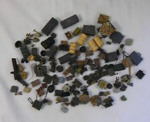 LARGE LOT OF 21ST CENTURY MILITARY AMMO BOXES CANTEENS HELMETS SHOVELS AND MORE
