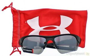 Under Armour - Satin Black Gray Multi Youth Sunglasses