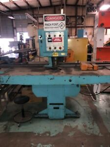 W.A. Whitney Punch Press Model 630-B WITH DIES!!!!