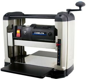 Delta Thickness Planer 13 in 15 Amp Portable Adjustable Tables Disposable Knives