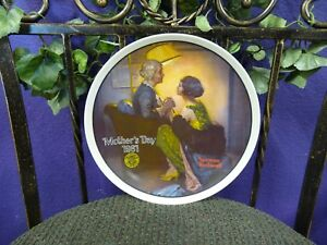 Norman Rockwell True Classic 'After the Party' Mothers Day Limited Edition Plate