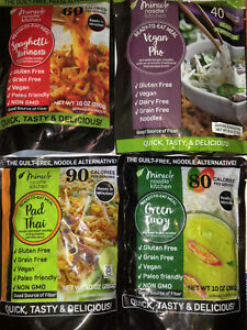 Miracle Noodle Gluten Free Ready to Eat Meals Variety Pack 4 Count