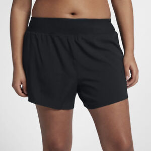 NWT Nike Dri-Fit 5 Eclipse Womens Plus Extended Size Running Shorts 1X 3X 922799