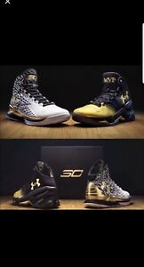 UNDER ARMOUR UA STEPH SC CURRY MVP PACK BACK 2 BACK SIZE 13 NIB 1300015 001