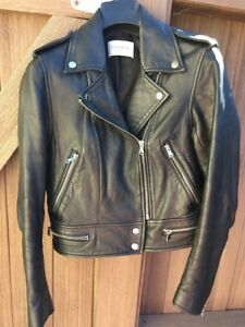 Sandro Women's Short Leather Jacket Size 1 (Small)  UK5  EU36